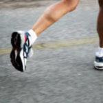 Marathon runners' running style